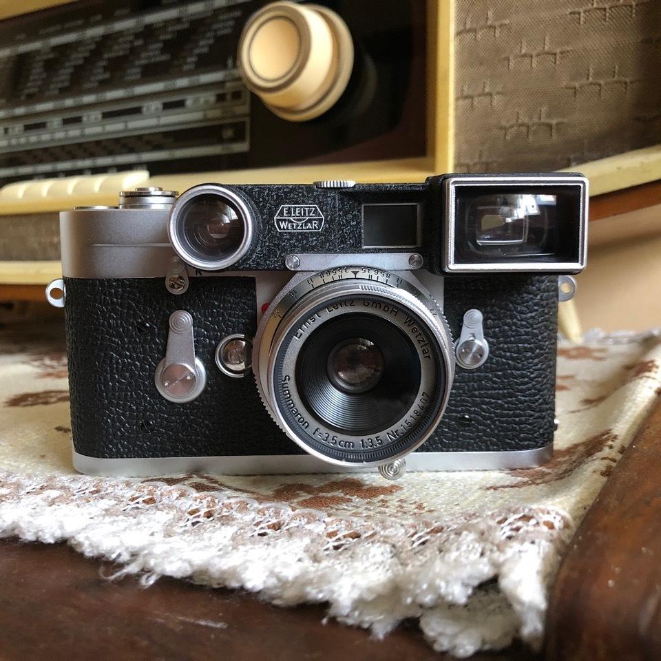 Obiektyw Leitz Leica Summaron 35mm M3 vintage