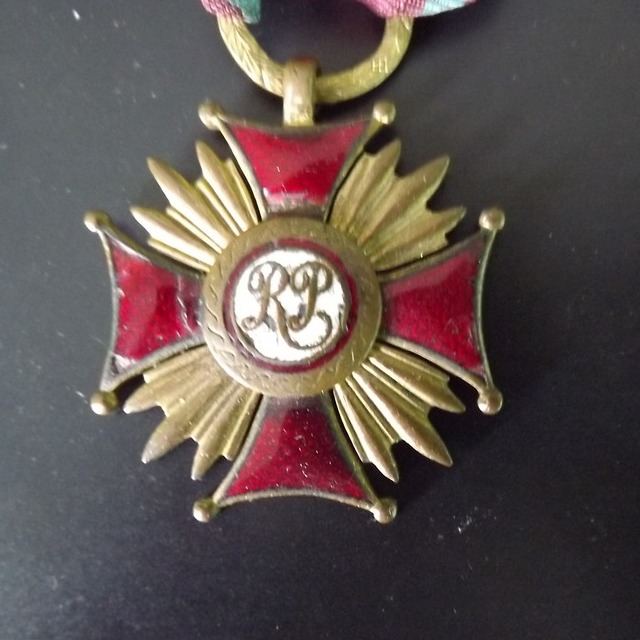 "Item Golden Cross of Merit "" of II RP the so-called ""fish-a sword"" the original"