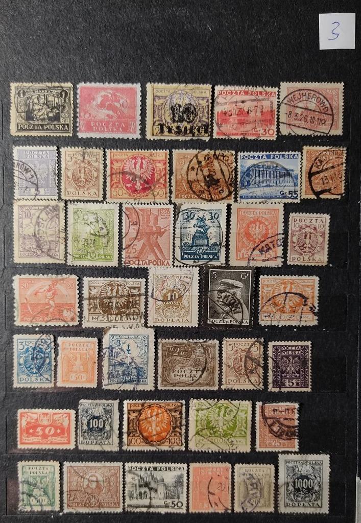 Zestaw znaczków PMW (3) KAŻDY INNY