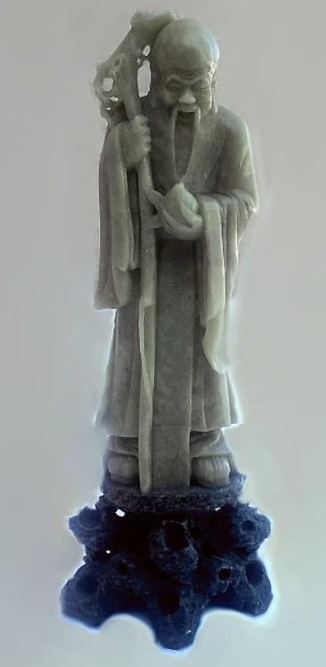 Chiny. Rzeźba w Kamieniu.
