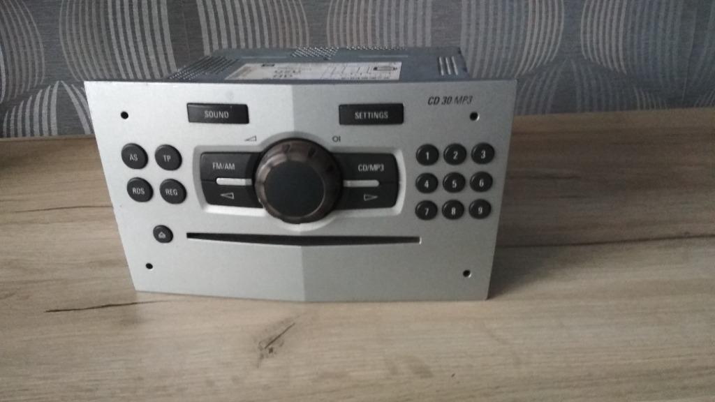 радио cd 30 mp3 aux corsa d