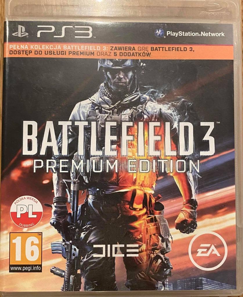 Battlefield 3 Premium Edition Ps3 Kup Teraz Za 39 99 Zl Lodz Allegro Lokalnie