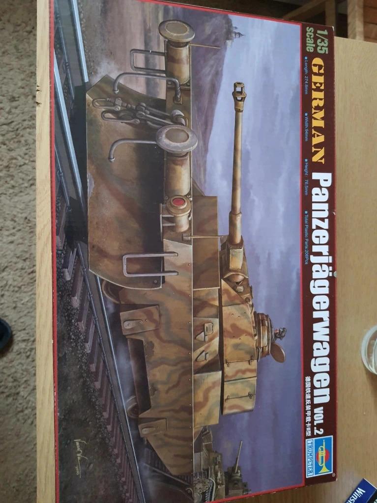 Trumpeter 00369 немецкий Panzerjagerwagen Vol. 2