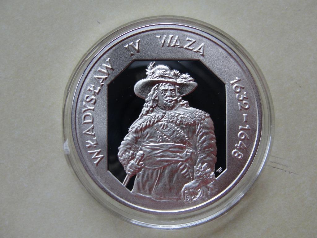 Владислав III Ваза - половинчатая фигура 10 злотых, 1996 г., состояние I