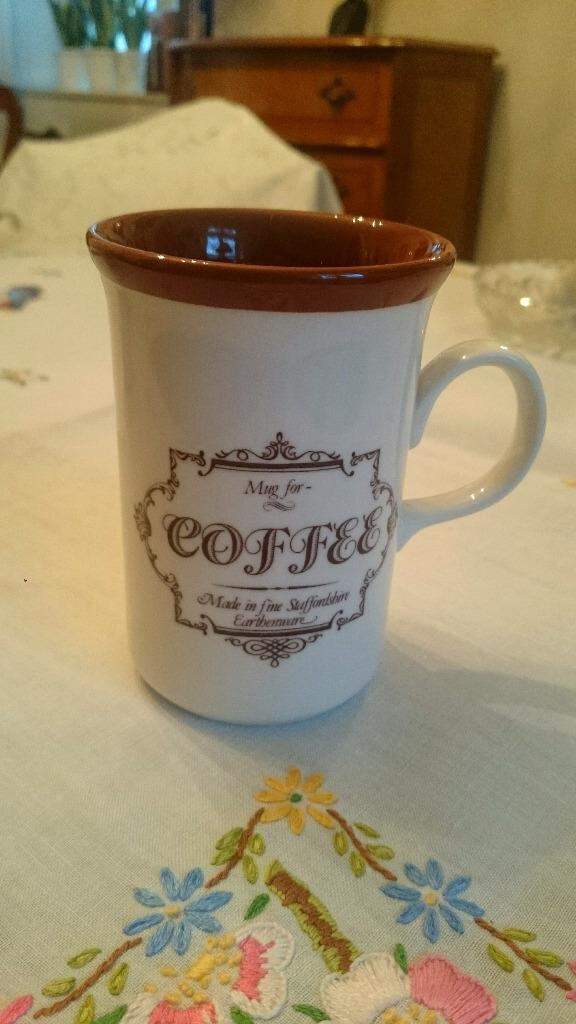 UNIKAT kubek Coffee Staffordshire