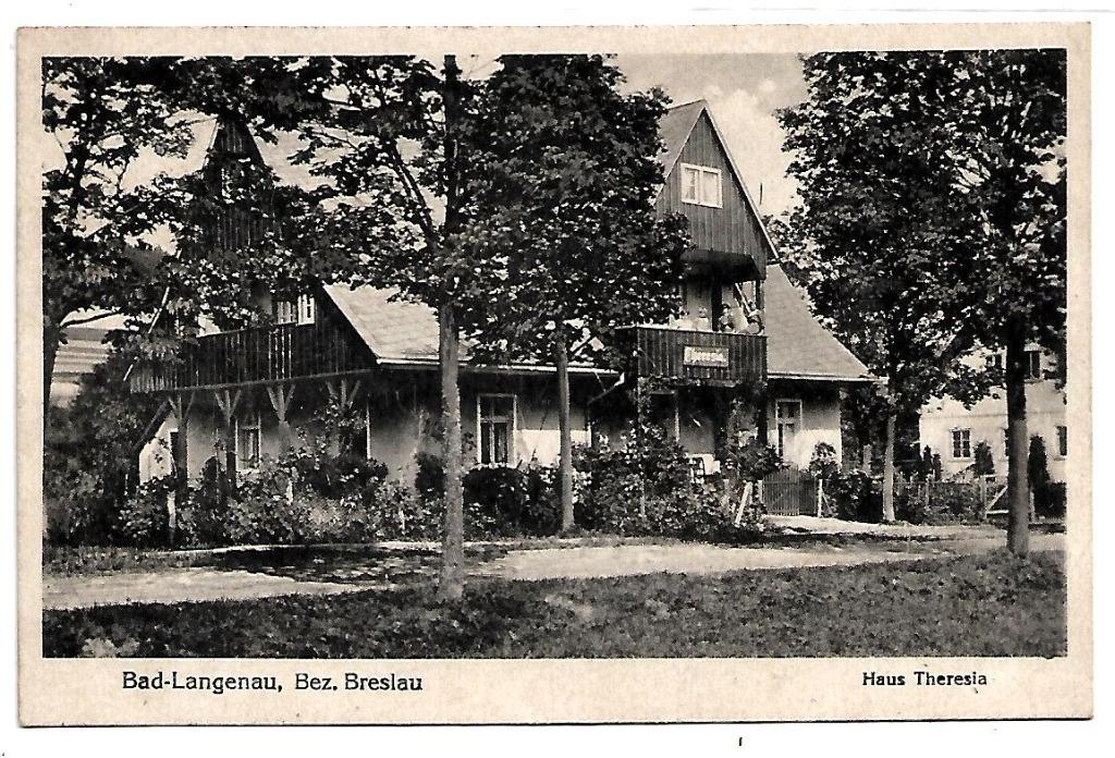 Długopole Zdrój, (Bad Langenau),1934 rok