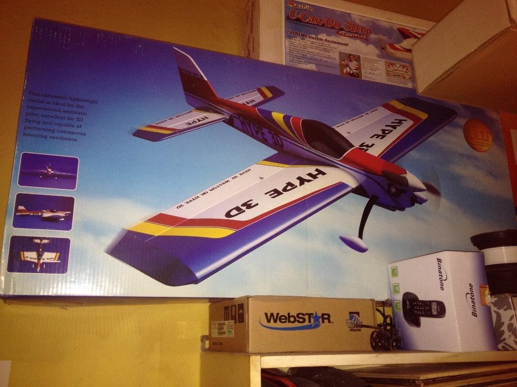Model samolotu rc Weston Hype 3D artf
