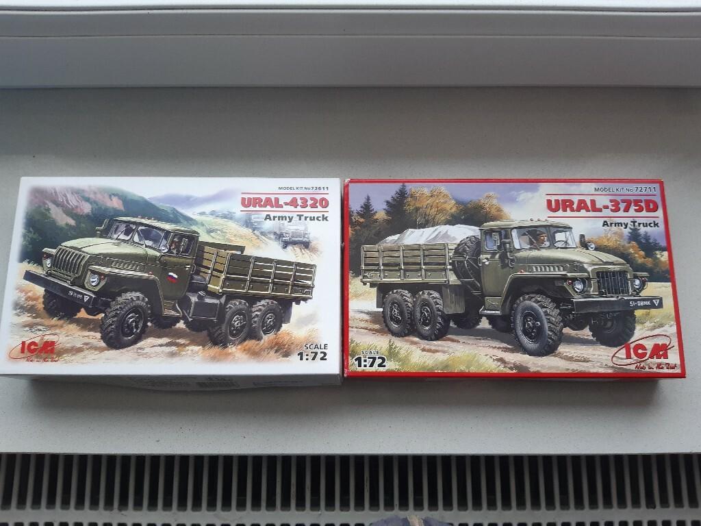 Ural 375D i Ural 4320