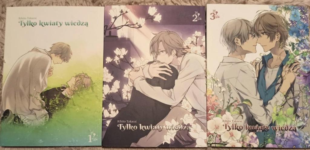 Tylko Kwiaty Wiedza Manga Trzy Tomy Kup Teraz Za 45 00 Zl Plock Allegro Lokalnie