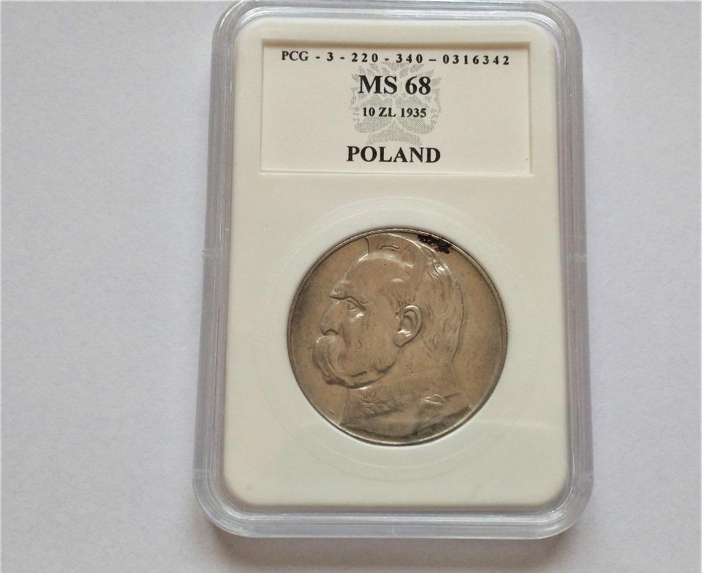II RP 10 zł 1935 r  p20