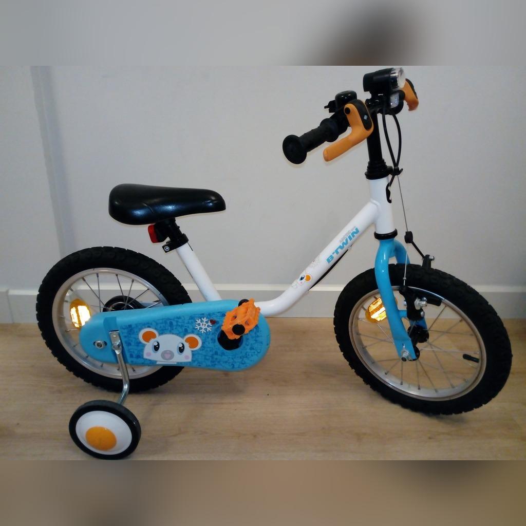 Rowerek B Twin 14 Cali Rower Dla Dzieci Decathlon Cena 265 00 Zl Poznan Allegro Lokalnie