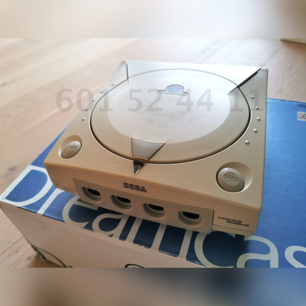 Item Sega DREAMCAST + Xbox Classic ONLY REPLACEMENT