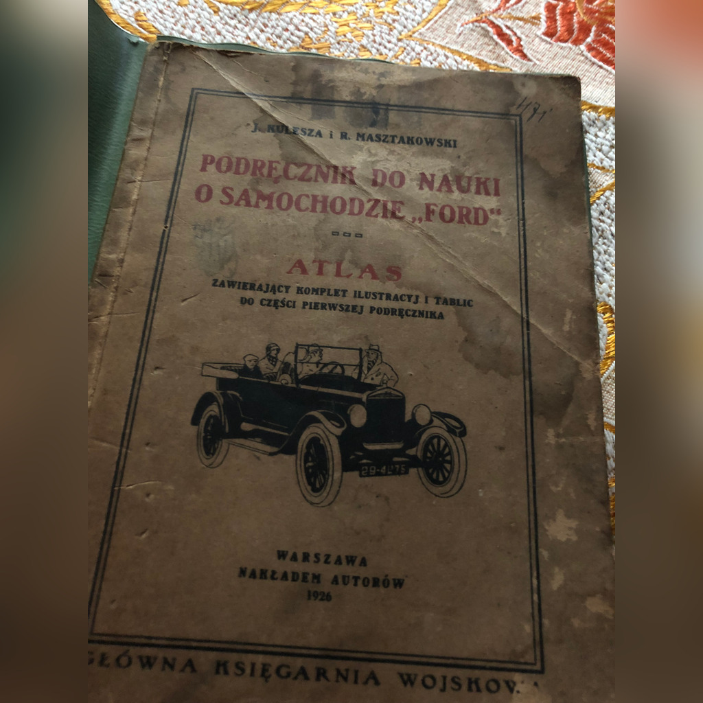 Item Guide to learn about ford 1926