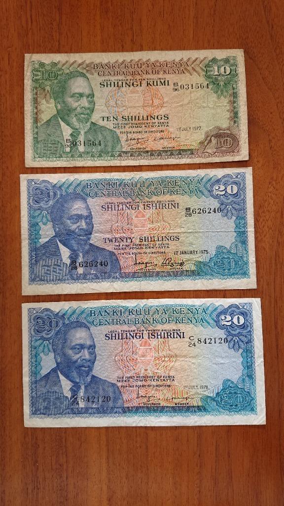 KENYA set 50 shilling nice