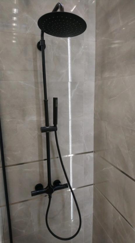 Licytacja Prysznic Deszczownica Bateria Czarna Leroy Merlin Gdansk Allegro Lokalnie