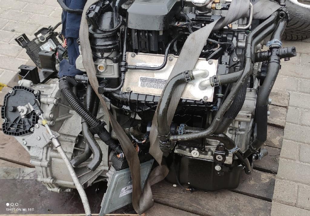 Двигатель комплектный skoda volkswagen seat 1.2 tsi cbz, фото 0