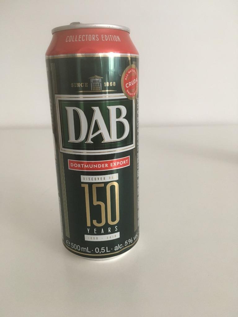 Piwo DAB kolekcjonerska puszka po piwie