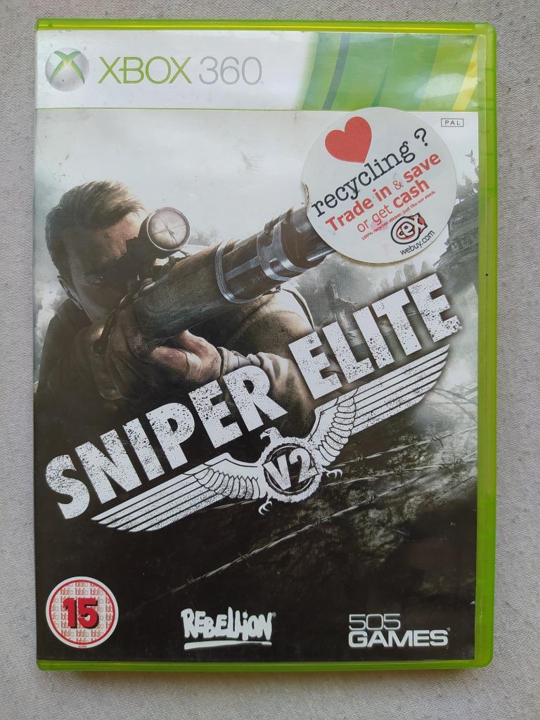 Sniper Elite V2 Xbox 360 X360 Kup Teraz Za 39 90 Zl Jelenia Gora Allegro Lokalnie
