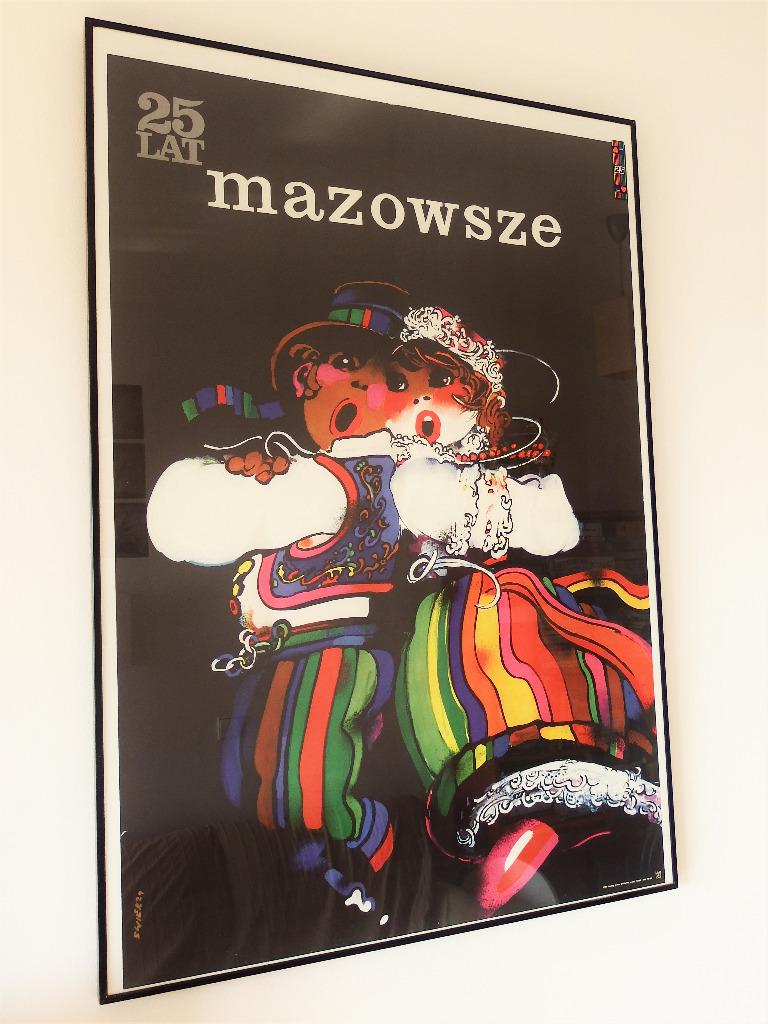 Plakat Mazowsze Waldemar Świerzy