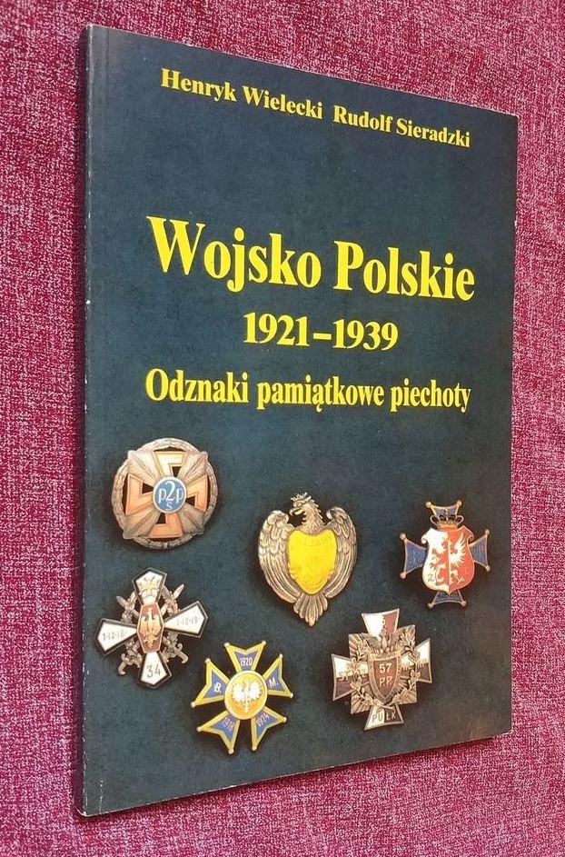 Wojsko Polskie 1921-39 Odznaki pamiątkowe piechoty