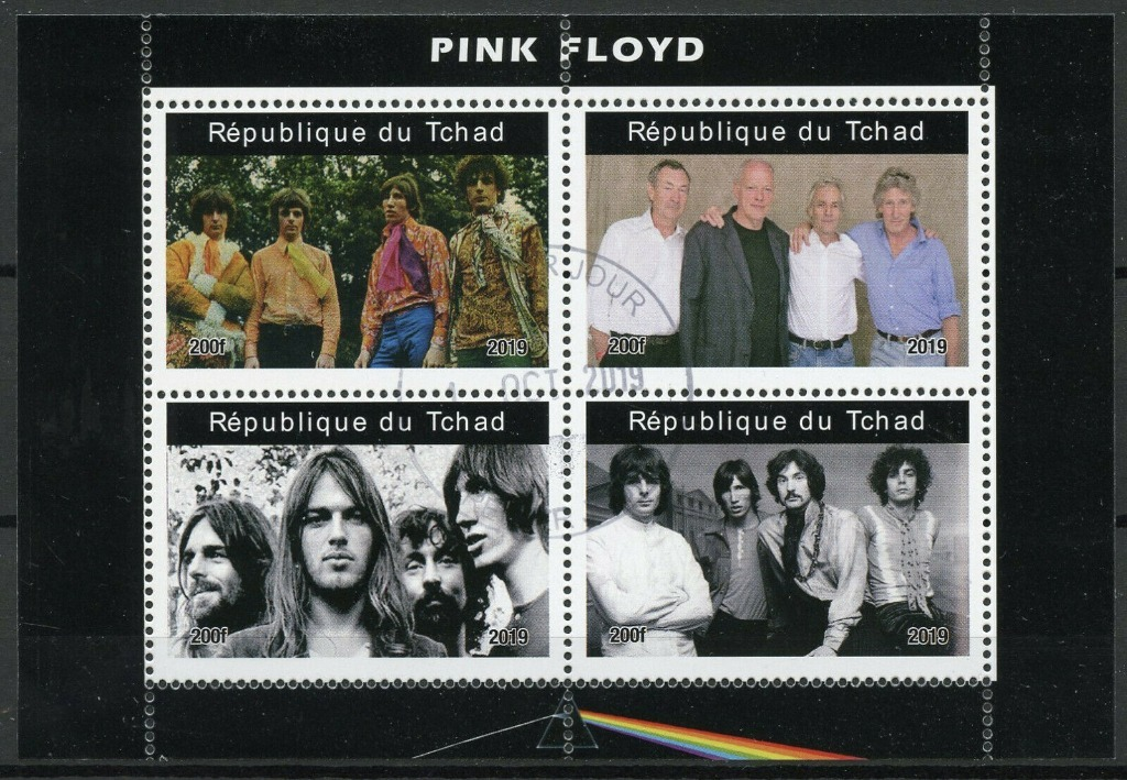 PINK FLOYD *znaczki* 13,5x9 cm
