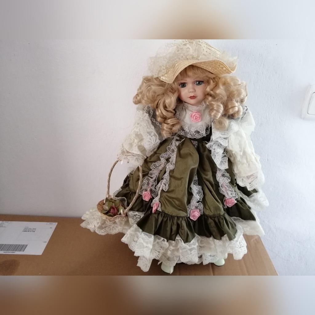 Kolekcjonerskie Lalki Porcelanowe Gilde Handwerk Kup Teraz Za 500 00 Zl Poskwitow Allegro Lokalnie