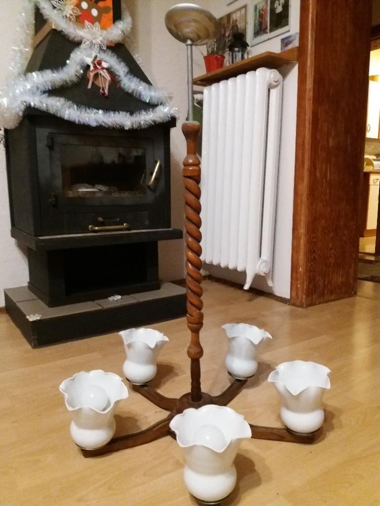 Żyrandol 5 ramion lampa wisząca