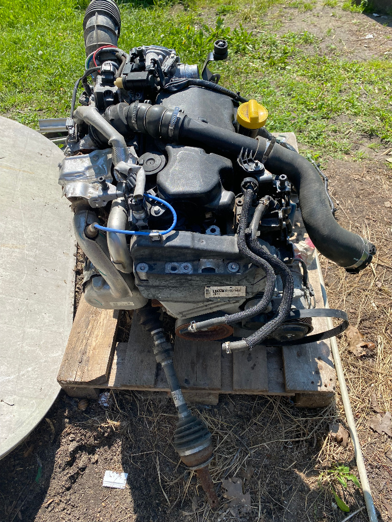 Двигатель k9kf64+ коробка renault nissan 1.5 dci 17r, фото 3