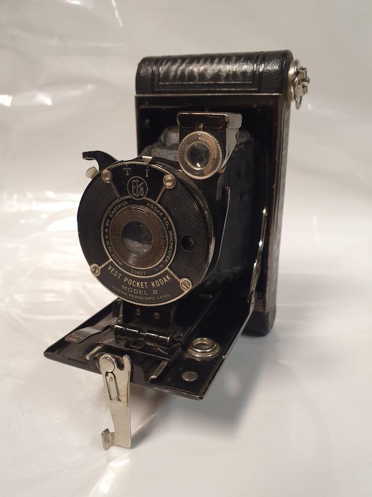 Aparat Kodak Vest Pocket model B, stuletni zabytek