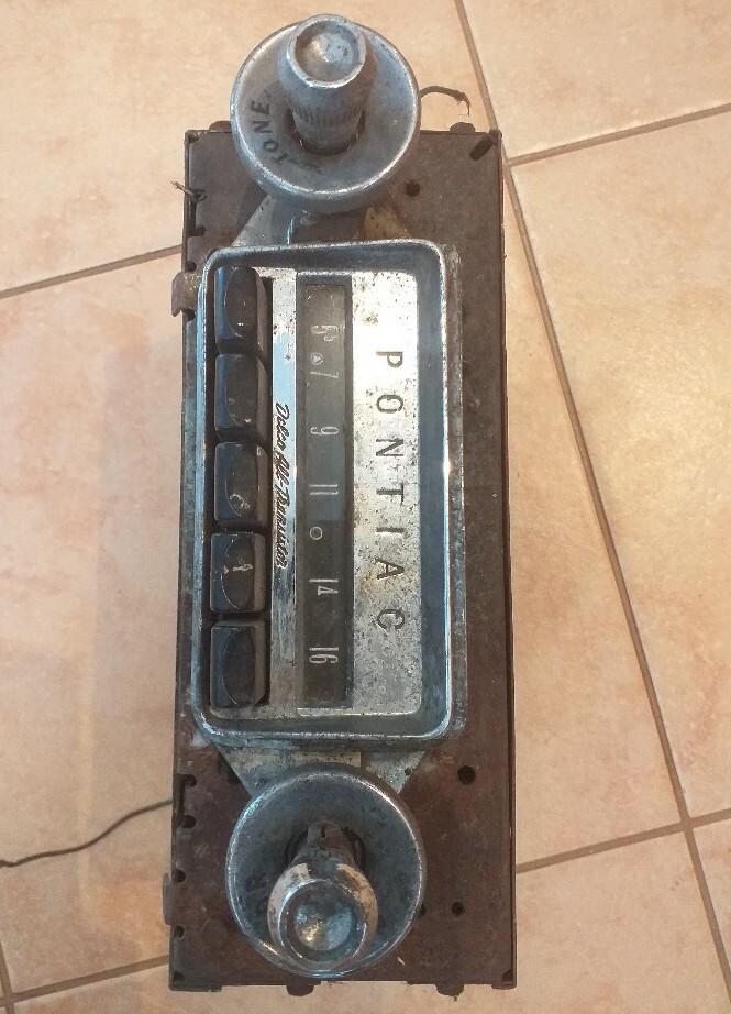 Stare radio samochodowe delco pontiac lata 60 - 70