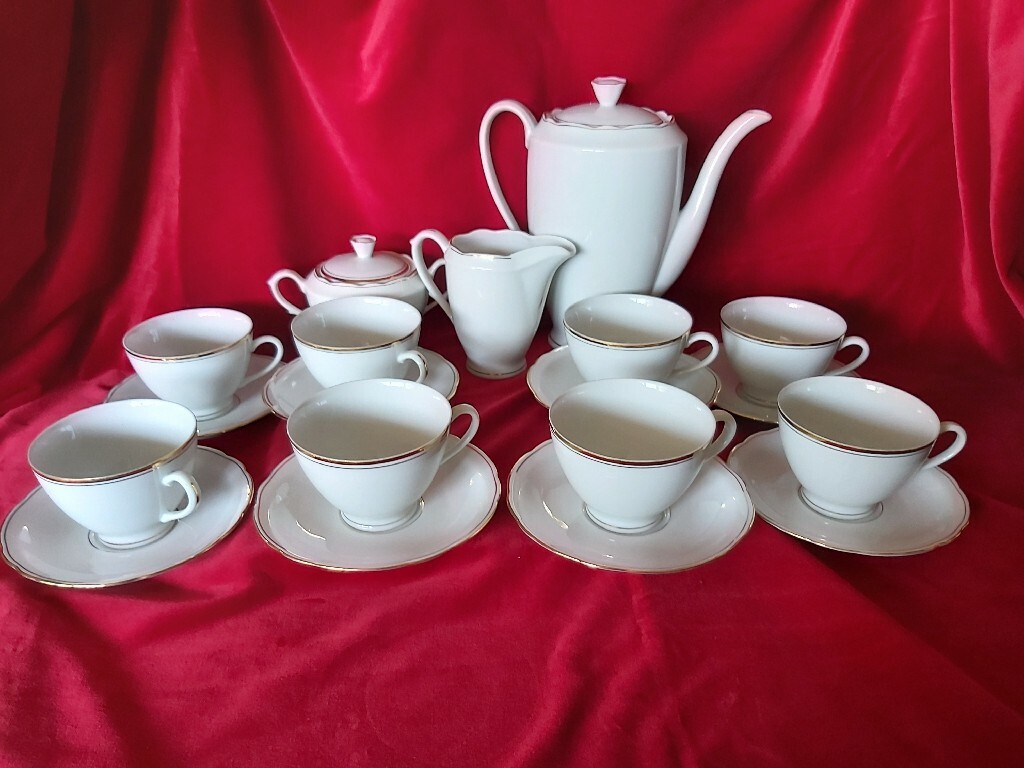 Ćmielów serwis kawowy 8 osób
