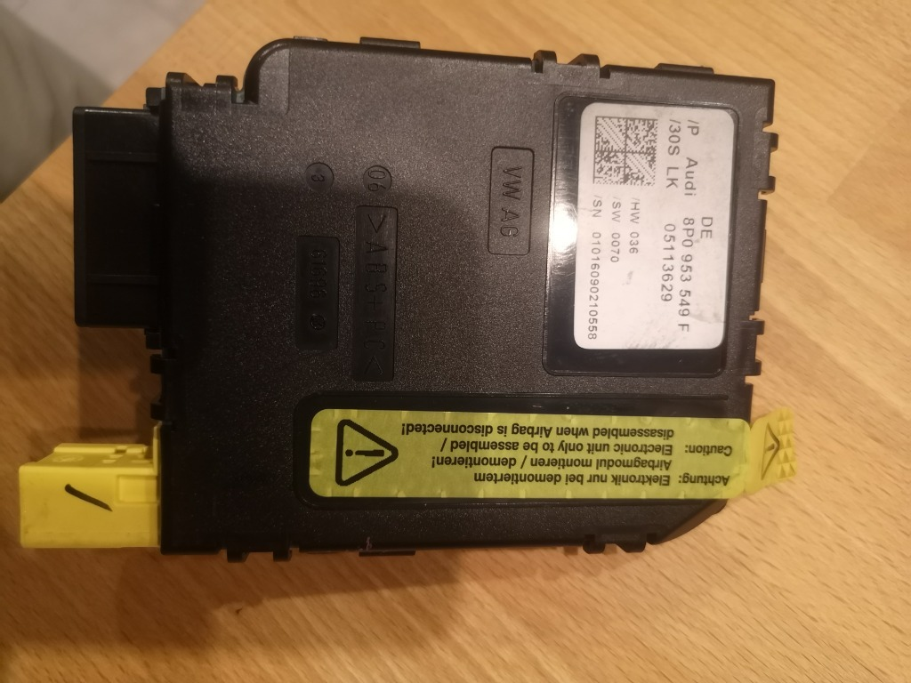 модуль угол поворота audi a3 8p 8p0953549f