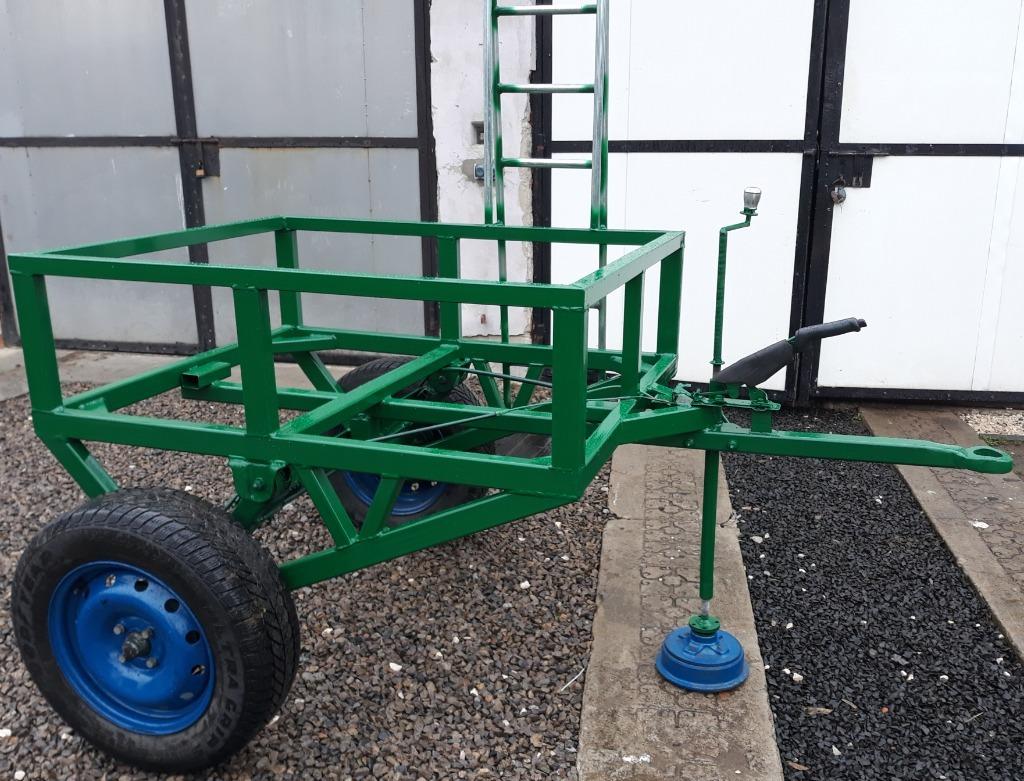 Przyczepka podwozie wózek stojak  pod mauzer 1000l