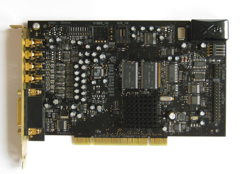 Купить Creative Sound Blaster X-Fi Fatal1ty 64 МБ на Otpravka - цены и фото - доставка из Польши и стран Европы в Украину.