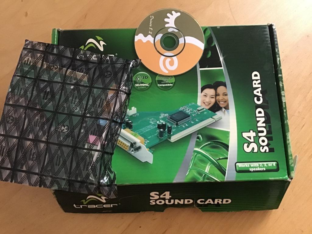 Купить Звуковая карта PCI S4 на Otpravka - цены и фото - доставка из Польши и стран Европы в Украину.