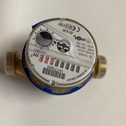 Счетчик воды 1/2 '' DN15 Холодная вода APATOR JS 1,6