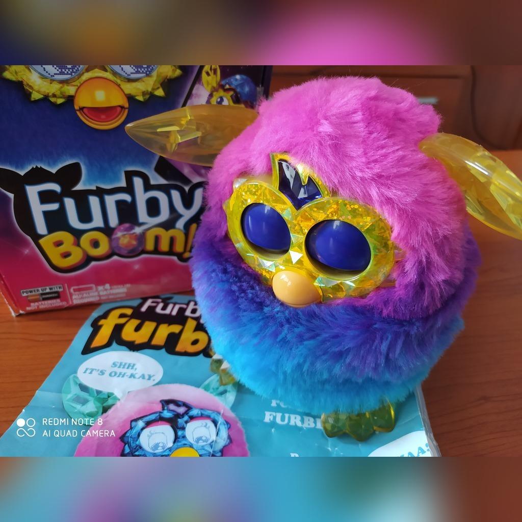 Furby Boom Crystal wersja EN jak nowy sprawny