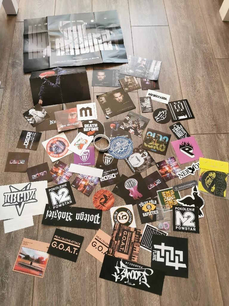 Wlepki Hip Hop Plakaty Gadzety Kup Teraz Za 119 00 Zl Tomaszow Mazowiecki Allegro Lokalnie