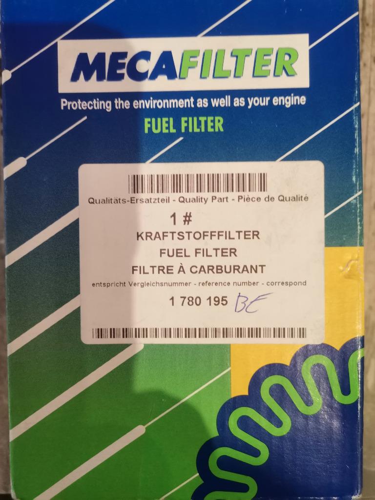 фильтр топлива mecafilter elg5441 ford focusmondeo