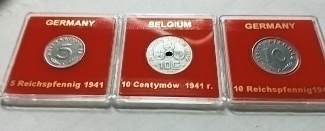 Zestaw rocznikowy monet 1941 r.