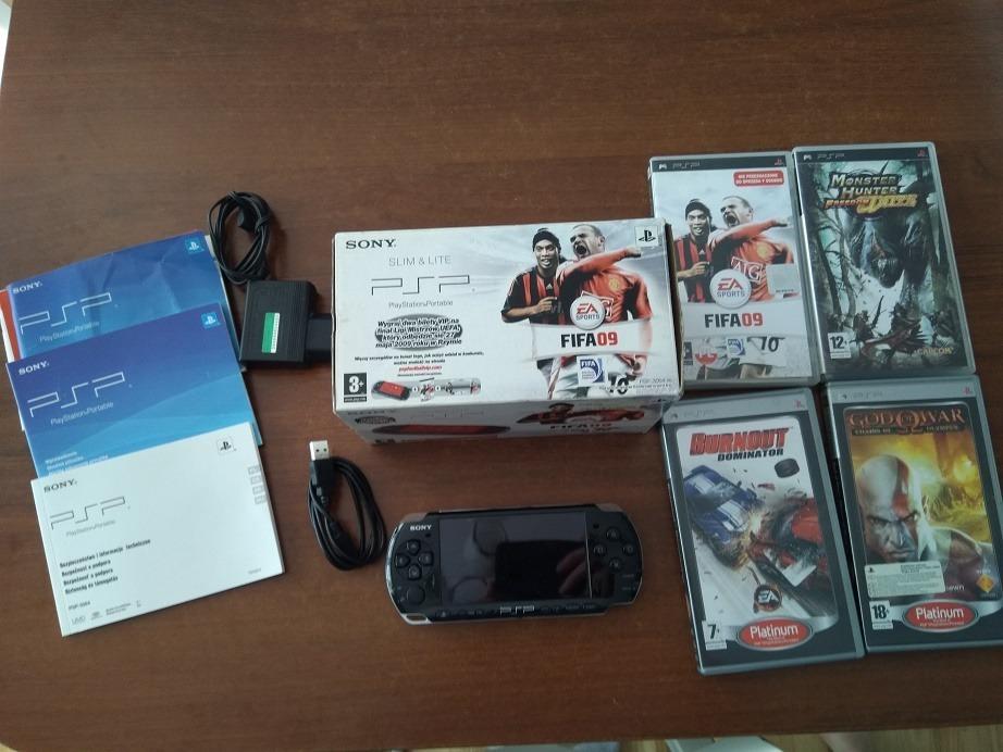Item PSP 3004 soft 6.60 + new battery