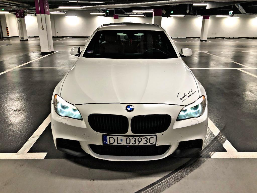 Bmw Seria 5 Bmw F10 520d M Pakiet M5 Look Biala Cena 55000 00 Zl Opole Allegro Lokalnie