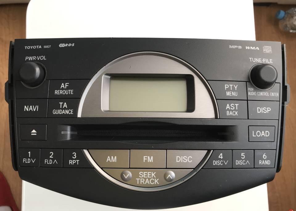 toyota rav 4 радио состояние образцовый
