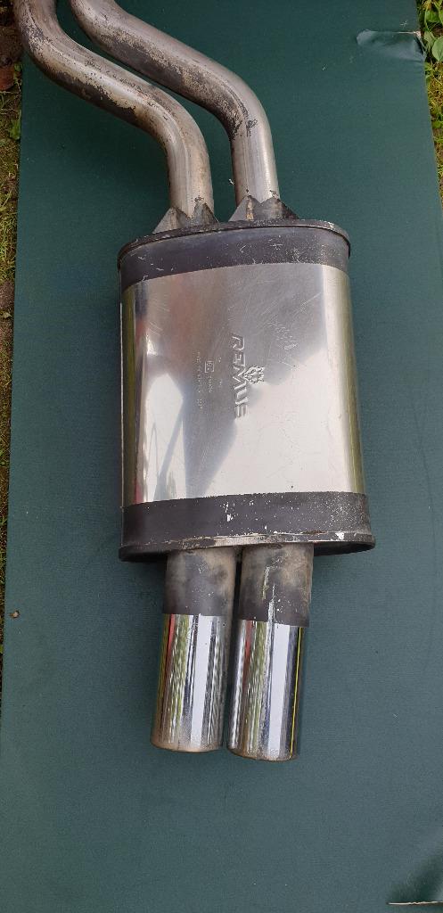 глушитель конечный remus тип 964  bmw  330d 330xd