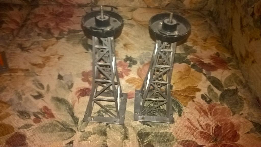 Wieża Maszt H0 TT N 20 cm. wys. Dioda.