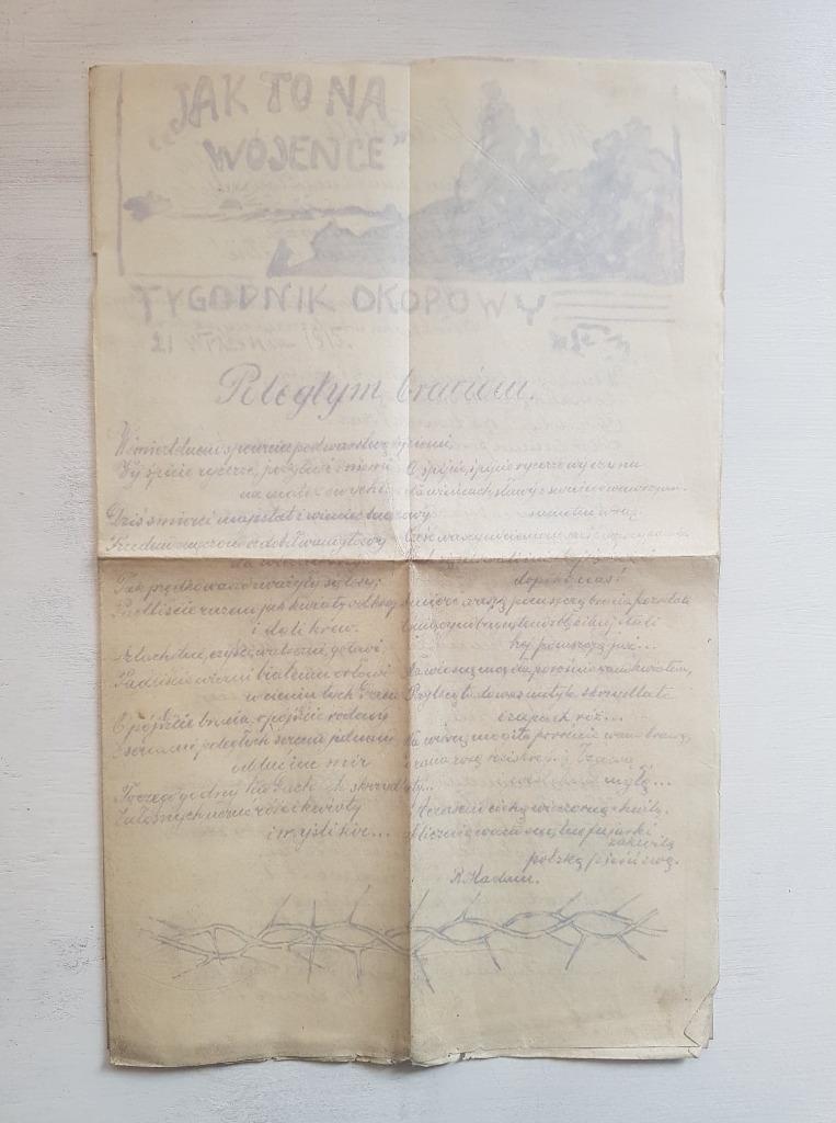 TYGODNIK Okopowy 1915 nr. 3