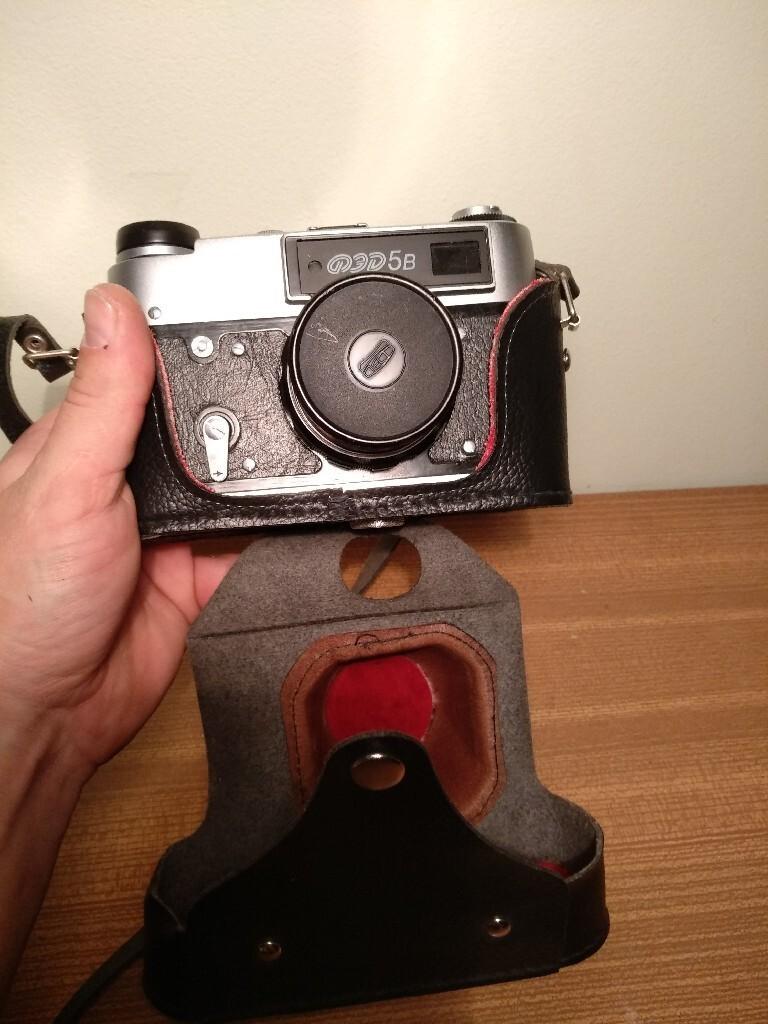 Камера Fed 5B + Industar 61L / D