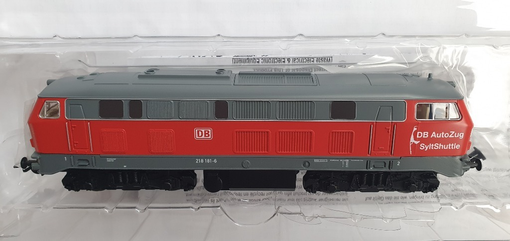 PIKO 57519 lokomotywa BR 218 edycja sylt shuttle