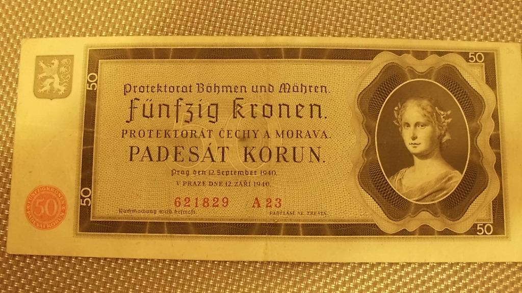 50 КОРОН 1940 стр. А23