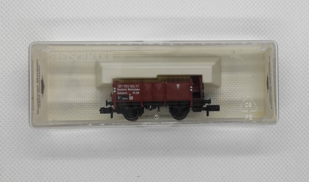 вагон для угля, комплект из 2 штук, масштаб N Fleischmann